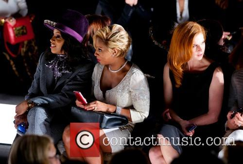 June Ambrose, Mary J. Blige, Sarah Rafferty and Giuliana Rancic 2