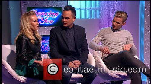 Brianne Delcourt, Gareth Gates and Jeff Braizer 3