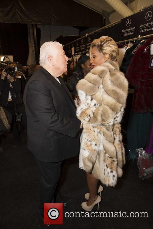 Dennis Basso, Mary J. Blige, lincoln Cener, New York Fashion Week