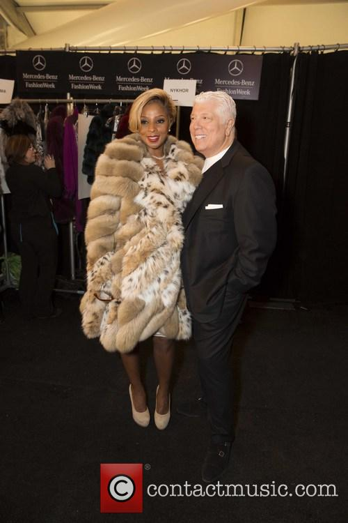 Mary J. Blige and Dennis Basso 2