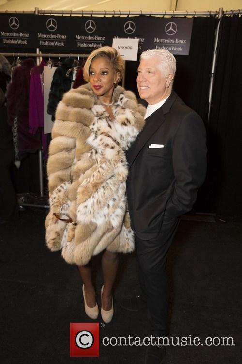Mary J. Blige and Dennis Basso 4