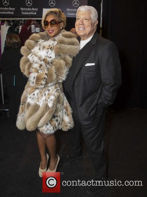Mary J. Blige and Dennis Basso 6
