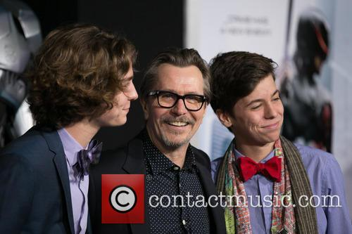 Gary Oldman and Family 7