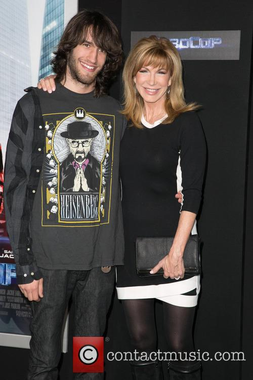 Photo of Leeza Gibbons & her Son  Troy Meadows