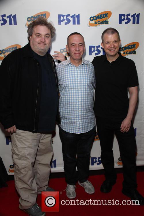 Artie Lange, Gilbert Gottfried and Jim Norton 3