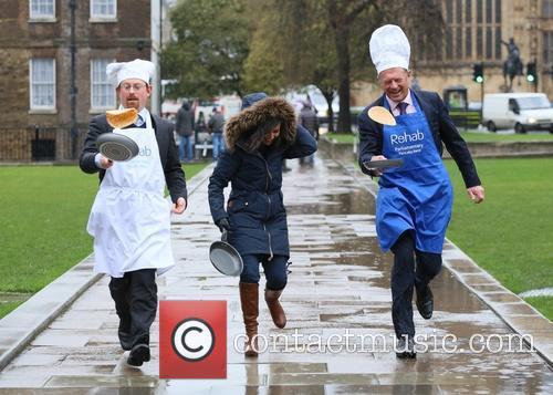Rehab Parliamentary Pancake Race