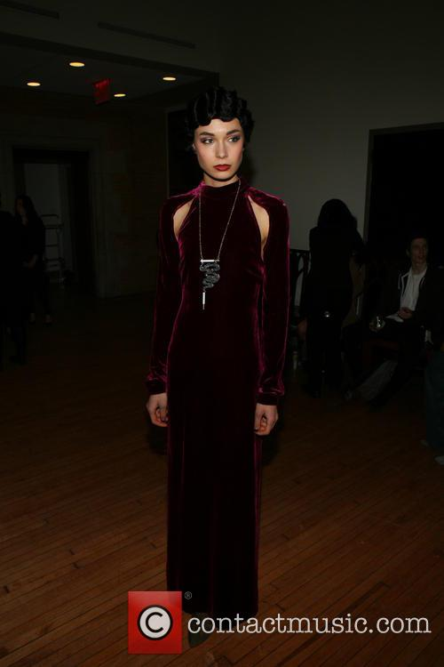 New York Fashion Week - Saunder - Backstage