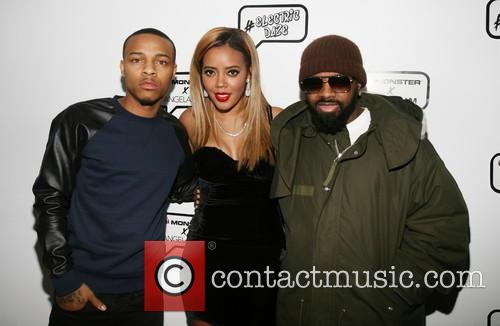 Bow Wow, Angela Simmons and Jermaine Dupri 2
