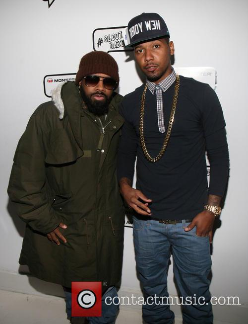 Jermaine Dupri and Juelz Santana 6