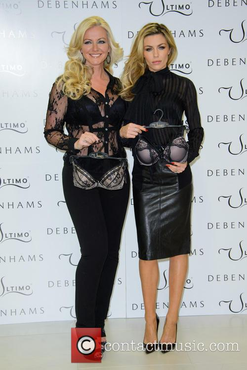 Michelle Mone and Abbey Clancy 2