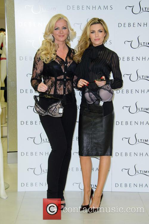 Michelle Mone and Abbey Clancy 5