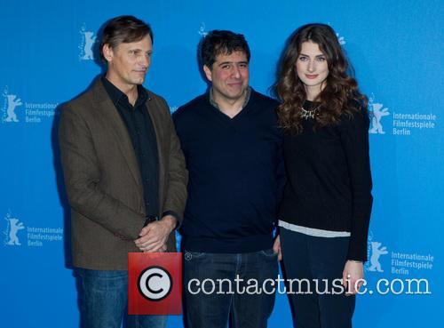 Hossein Amini, Viggo Mortensen and Daisy Bevan 3