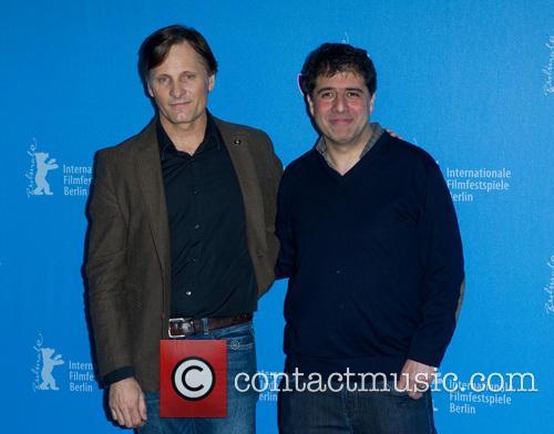 Hossein Amini and Viggo Mortensen
