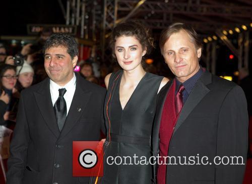 Viggo Mortensen, Daisy Bevan and Hossein Amini 7