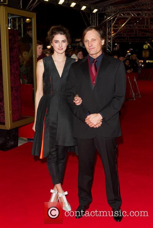 Viggo Mortensen and Daisy Bevan 2