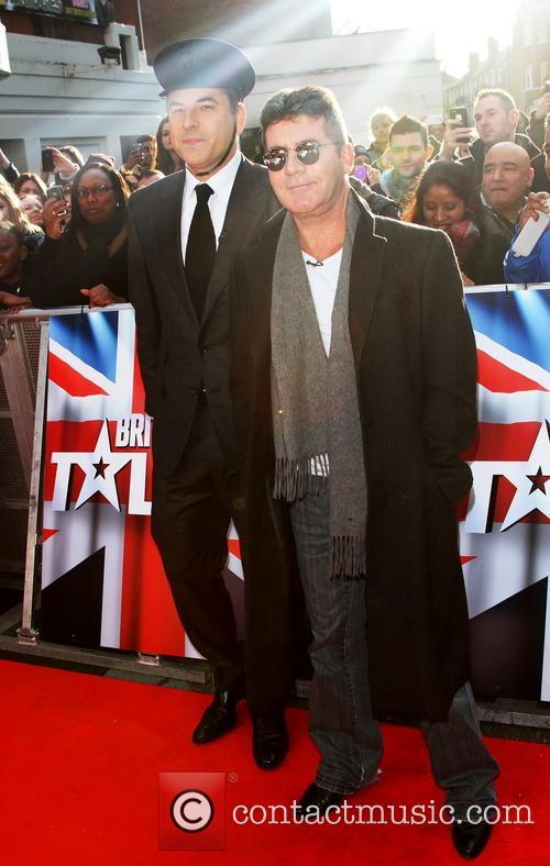 Simon Cowell and David Walliams 6