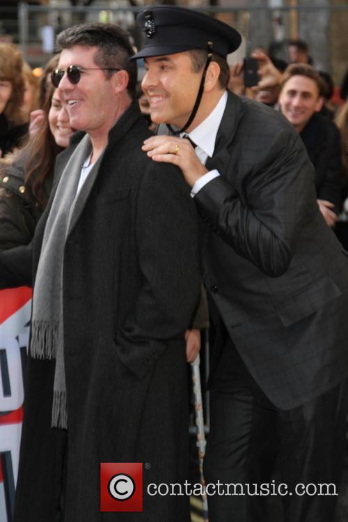 Simon Cowell and David Walliams 8
