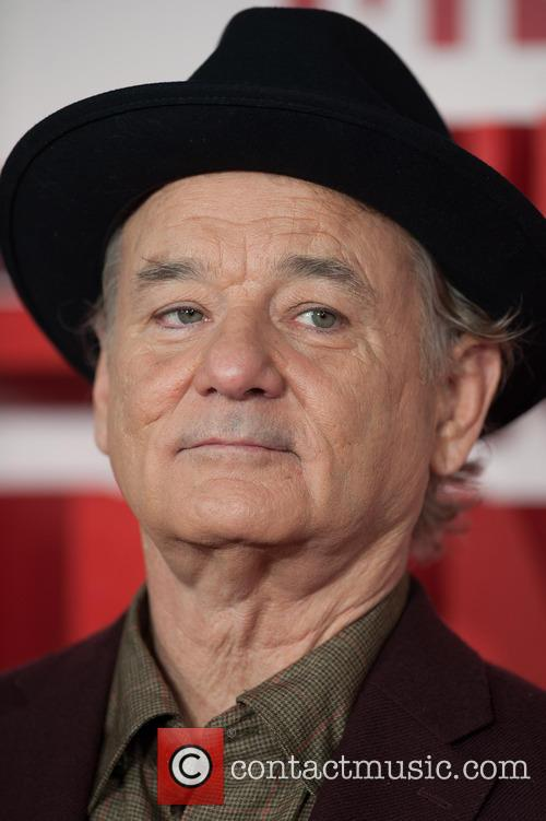 Bill Murray Monuments Men Premiere