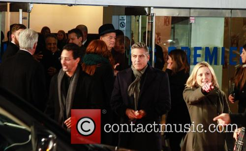 George Clooney, Leicester Square, Odeon Leicester Square