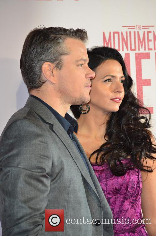MATT DAMON and PARTNER 2