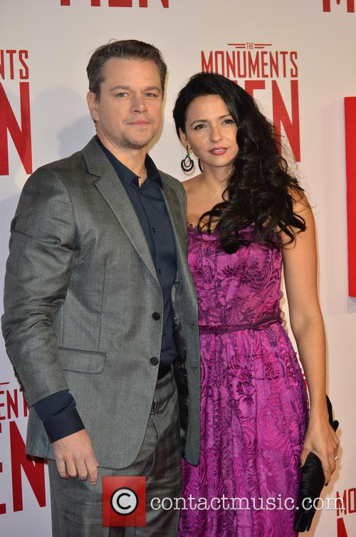 MATT DAMON and PARTNER 4