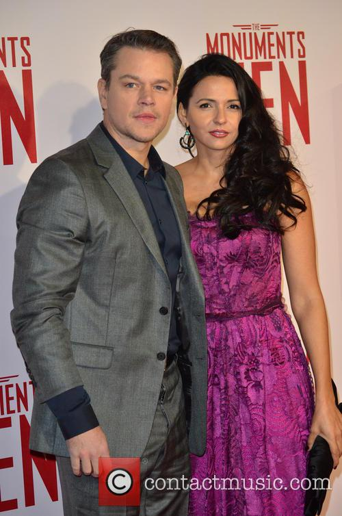 MATT DAMON and PARTNER 7