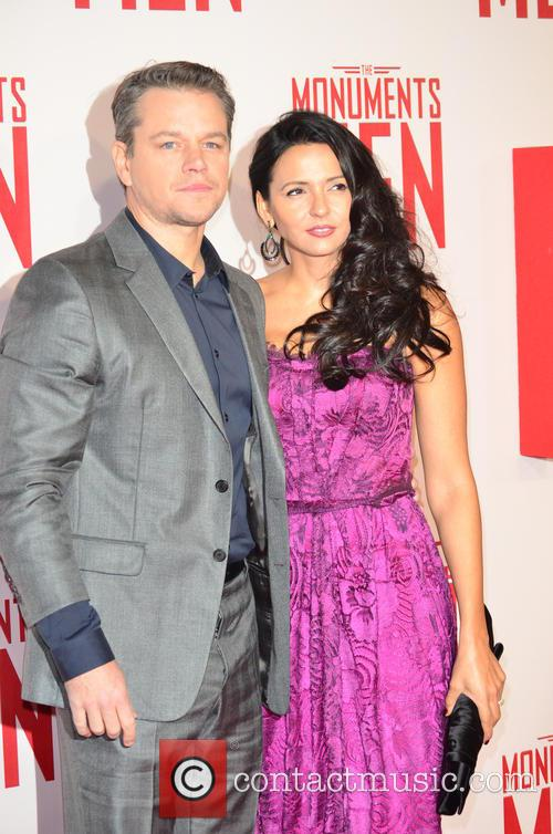 MATT DAMON and PARTNER 8