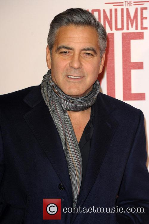 george clooney uk film premiere of the 4063537
