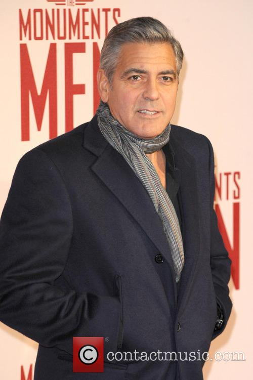 George Clooney, Odeon Leicester Square