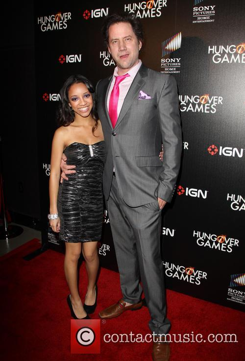 Chanel Gaines and Jamie Kennedy 2