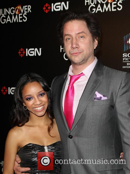 Chanel Gaines and Jamie Kennedy 1
