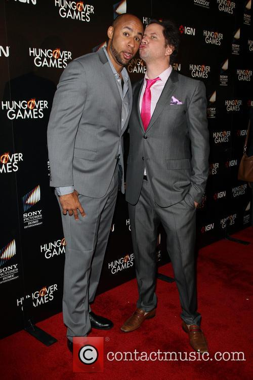 Hank Baskett and Jamie Kennedy 4