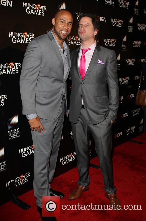 Hank Baskett and Jamie Kennedy 5