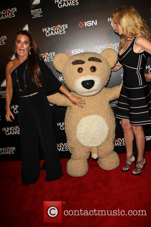 Kyle Richards, Camille Grammer and Teddy 9
