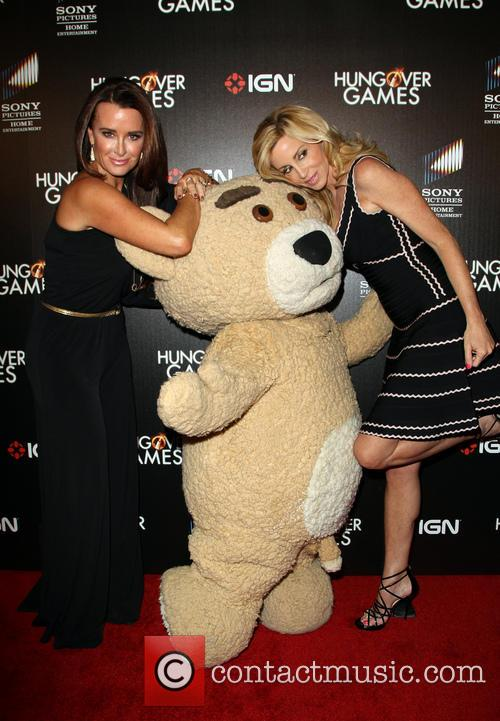 Kyle Richards, Camille Grammer and Teddy 11