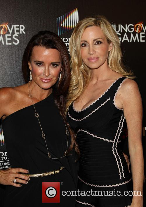 Kyle Richards and Camille Grammer 1