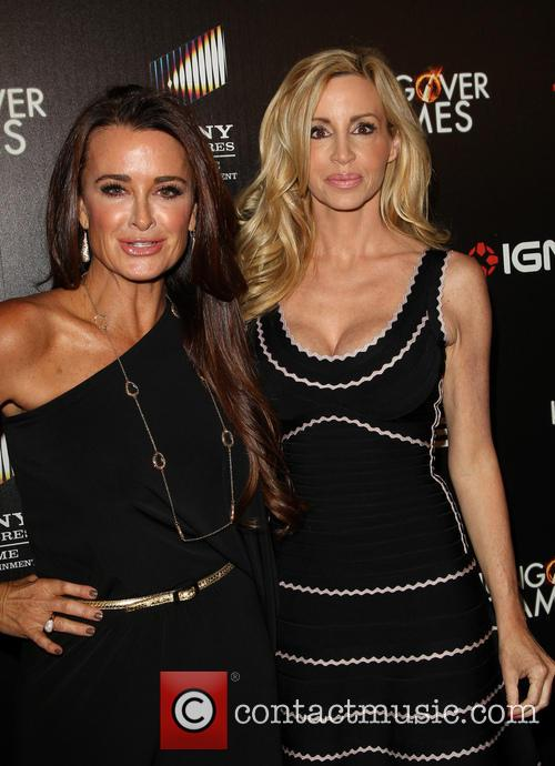 Kyle Richards and Camille Grammer 6