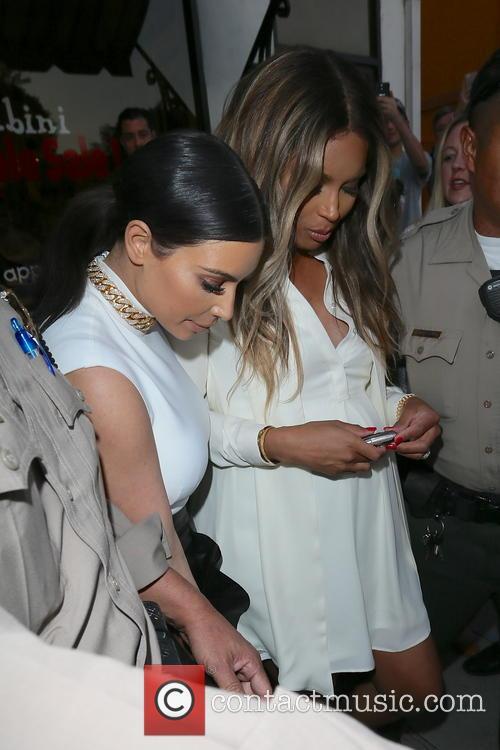 Kim Kardashian and Ciara 1