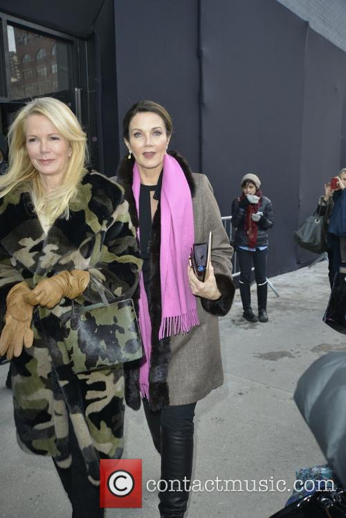 Celebrities arrive for the Michael Kors show
