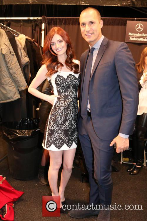 Lydia Hearst and Nigel Barker 2
