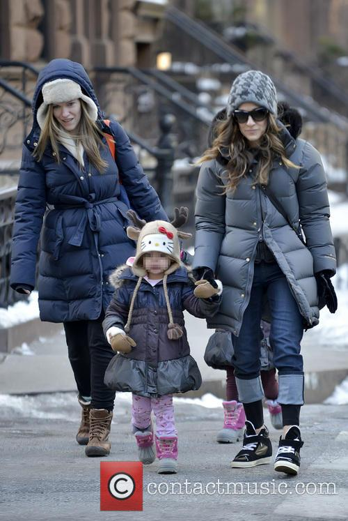 Sarah Jessica Parker, Marion Broderick and Tabitha Broderick 2
