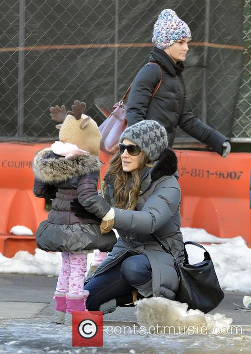 Sarah Jessica Parker, Marion Broderick and Tabitha Broderick 10