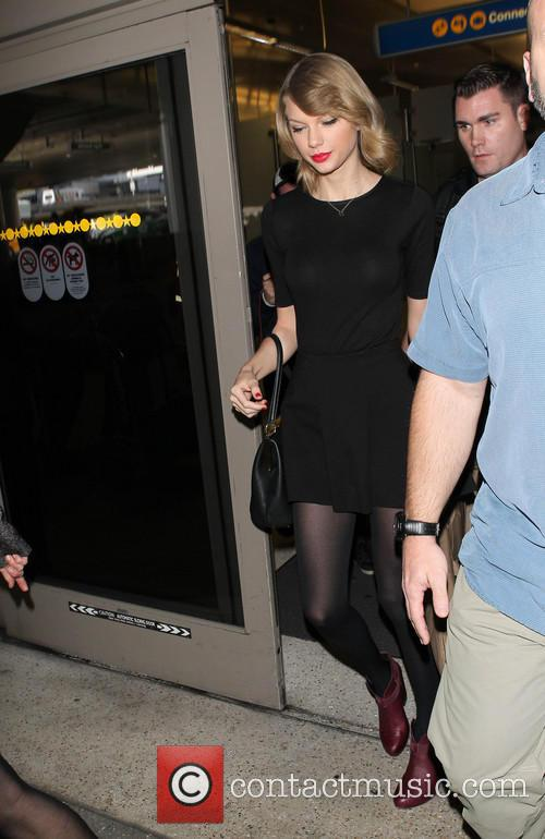 Taylor Swift At LAX