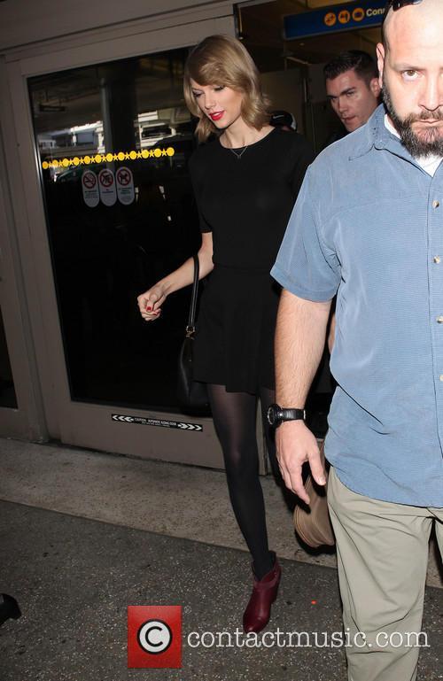 Taylor Swift At LAX
