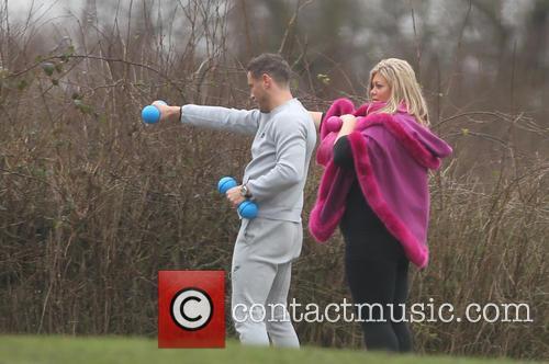Gemma Collins and Elliott Wright 6