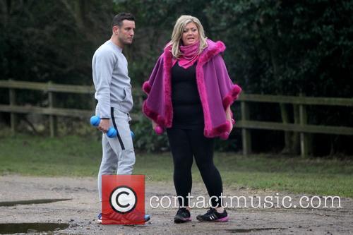 Gemma Collins and Elliott Wright 7