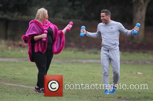 Gemma Collins and Elliott Wright 9
