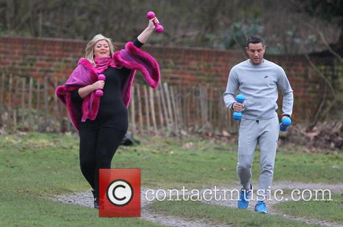 Gemma Collins and Elliott Wright 11