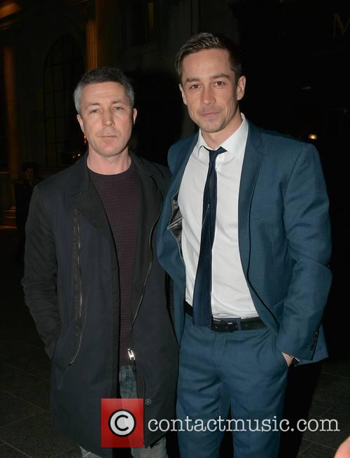 Aidan Gillen and Killian Scott