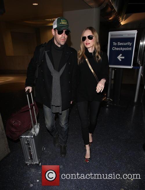 Kate Bosworth and Michael Polish at LAX